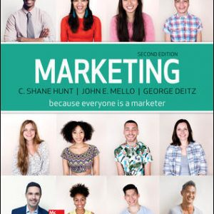 Solution Manual for Marketing 2nd Edition Hunt