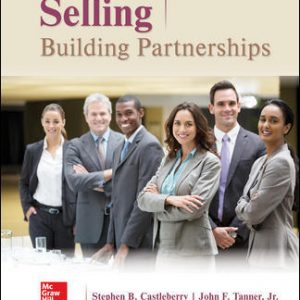 Solution Manual for Selling: Building Partnerships 10th Edition Castleberry