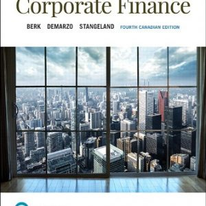 Test Bank for Corporate Finance 4th Canadian Edition Berk