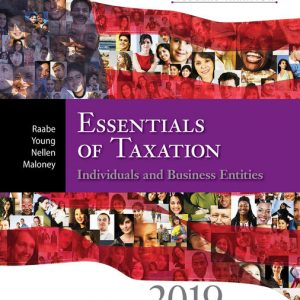Test Bank for South-Western Federal Taxation 2019 Essentials of Taxation Individuals and Business Entities 22nd Edition Raabe
