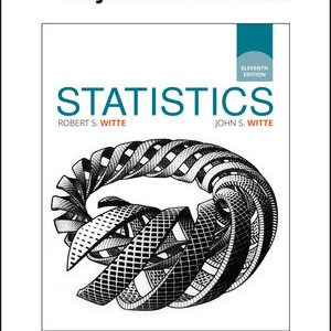 Test Bank for Statistics 11th Edition Witte