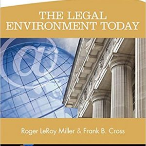 Test Bank for The Legal Environment Toda 8th Edition Miller