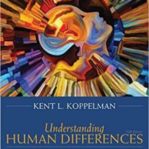 Test Bank for Understanding Human Differences 5th Edition Koppelman
