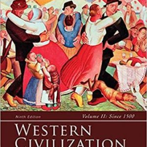 Test Bank for Western Civilization: Volume II: Since 1500 9th Edition Spielvogel