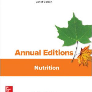 Test Bank for Annual Editions: Nutrition 28th Edition Colson