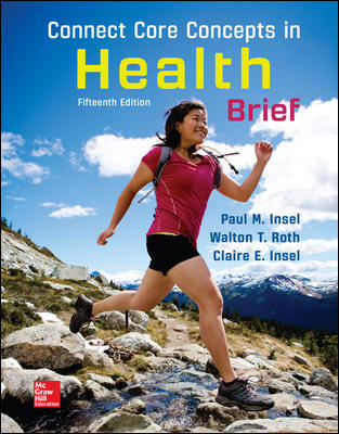 Test Bank for Core Concepts in Health BRIEF 15th Edition Insel