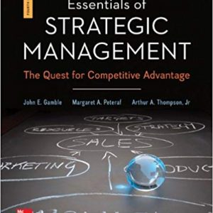 Test Bank for Essentials of Strategic Management 4th Edition Gamble