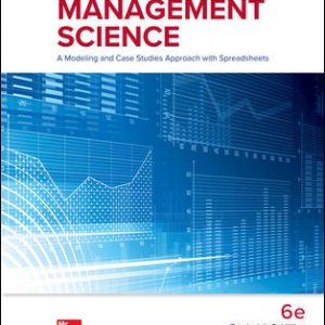 Test Bank for Introduction to Management Science 6th Edition Hillier
