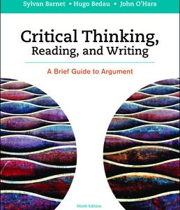 Solution Manual for Critical Thinking, Reading and Writing A Brief Guide to Argument 9th Edition Barnet