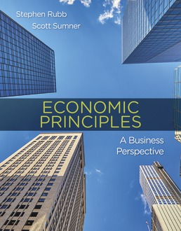 Test Bank for Economic Principles: A Business Perspective 1st Edition Rubb