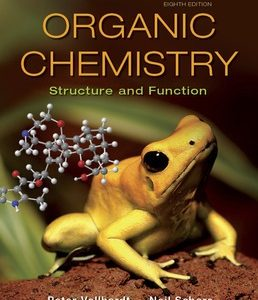 Test Bank for Organic Chemistry Structure and Function 8th Edition Vollhardt