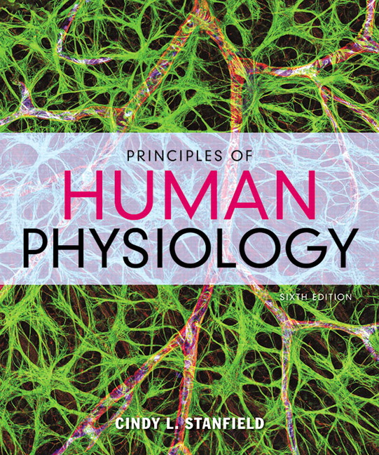 Test Bank for Principles of Human Physiology 6th Edition Stanfield