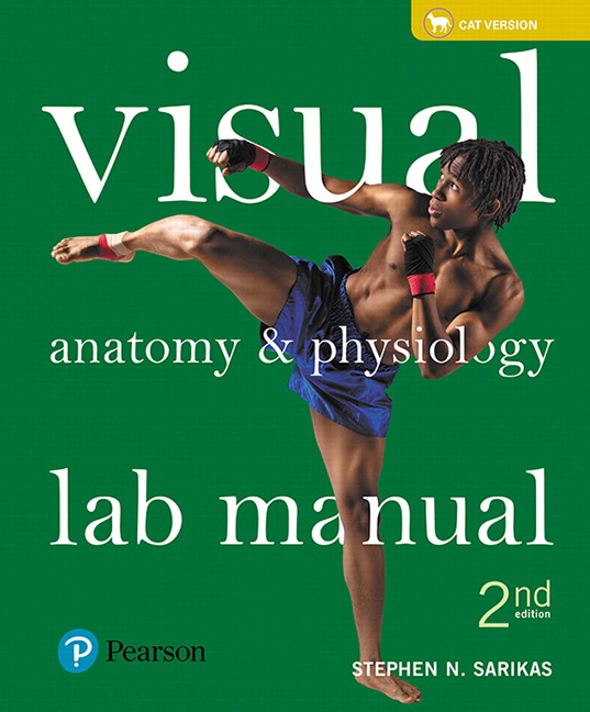 Solution Manual for Visual Anatomy and Physiology Lab Manual Cat Version 2nd Edition Sarikas