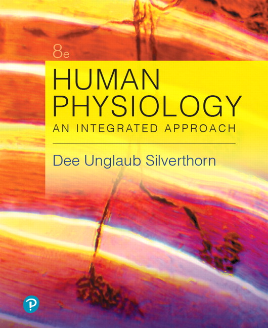 Solution Manual for Human Physiology: An Integrated Approach 8th Edition Silverthorn