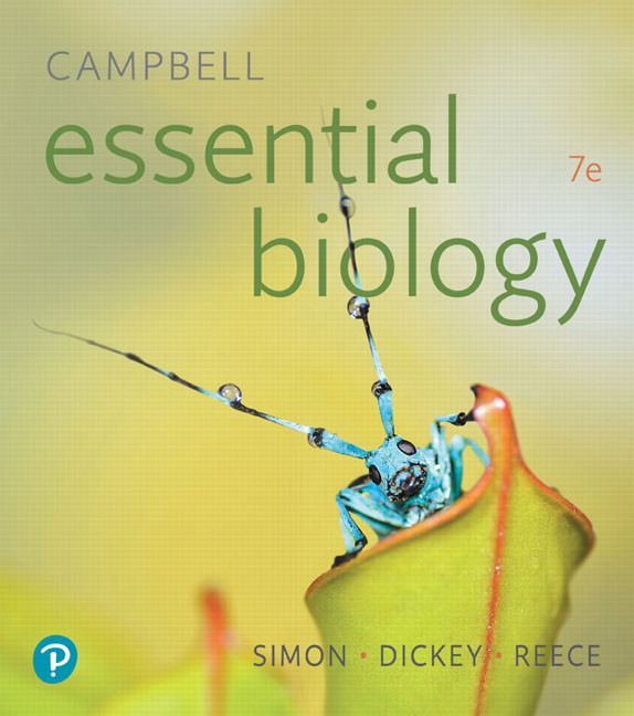 Solution Manual for Campbell Essential Biology 7th Edition Simon
