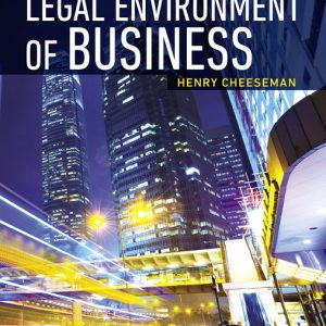 Test Bank for Legal Environment of Business 9th Edition Cheeseman
