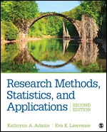 Solution Manual for Research Methods Statistics and Applications 2nd Edition Adams