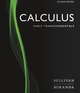 Test Bank for Calculus Early Transcendentals 2nd Edition Sullivan