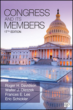 Test Bank for Congress and Its Members 17th Edition Davidson