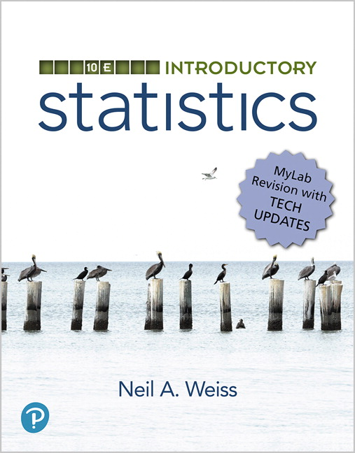 Test Bank for Introductory Statistics 10th Edition Weiss