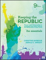 Test Bank for Keeping the Republic Power and Citizenship in American Politics The Essentials 9th Edition Barbour