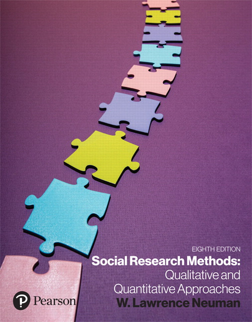Test Bank for Social Research Methods: Qualitative and Quantitative Approaches 8th Edition Neuman