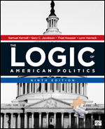 Test Bank for The Logic of American Politics 9th Edition Kernell
