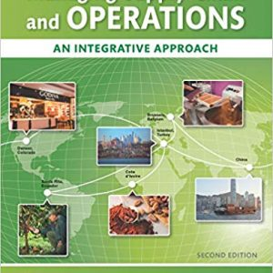 Solution Manual for Managing Supply Chain and Operations: An Integrative Approach 2nd Edition Foster